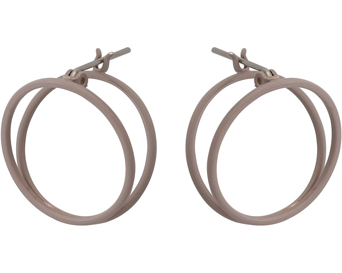 product stud louisemarydesigns circle handmade earrings by louise original sterling silver hammered