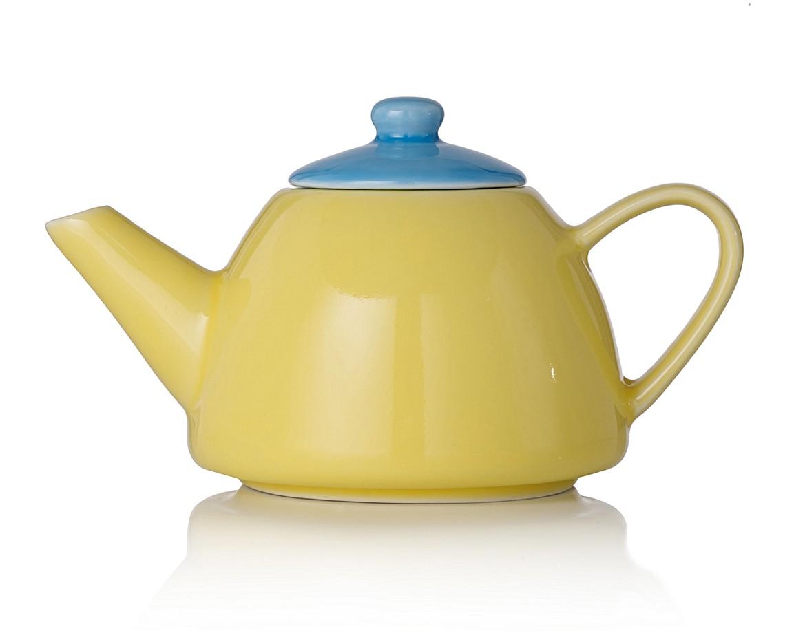 Pretty Pastel Ceramic Teapot   All Sale   Oliver Bonas