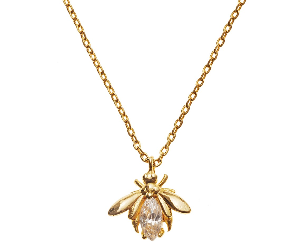 products bumblebee little pendant and in special bumble alex jewelry necklace edition yellow seasons diamonds littleseasons woo gold kt with shopify bee