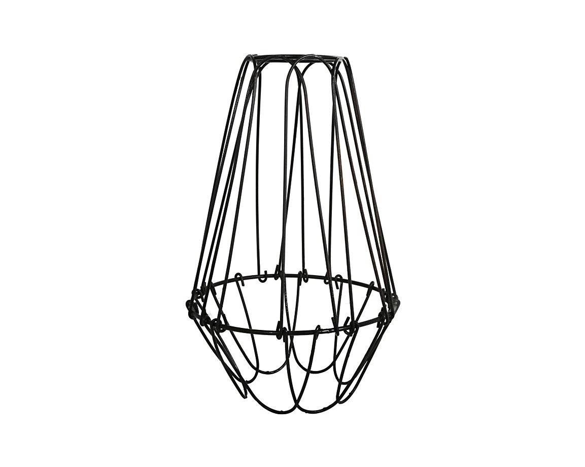 light lampshade trouble x cage wire vintage lamp edison shade guard pendant