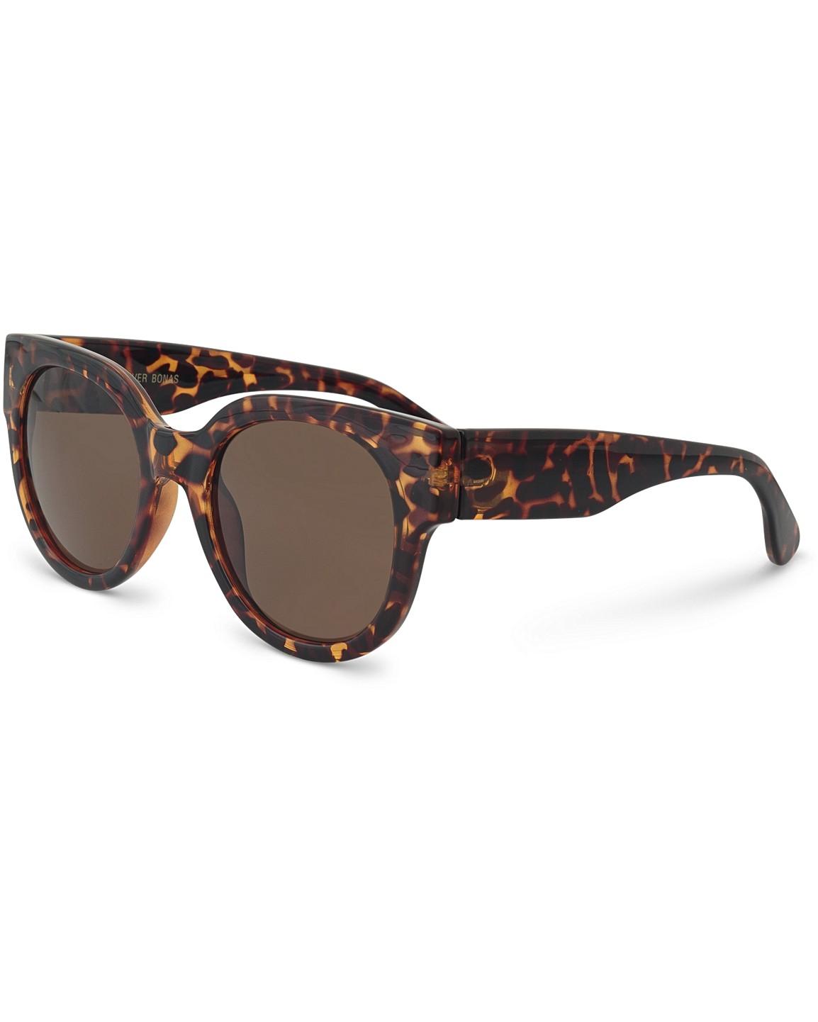 acd962dd61 Preppy Round Tortoiseshell Sunglasses