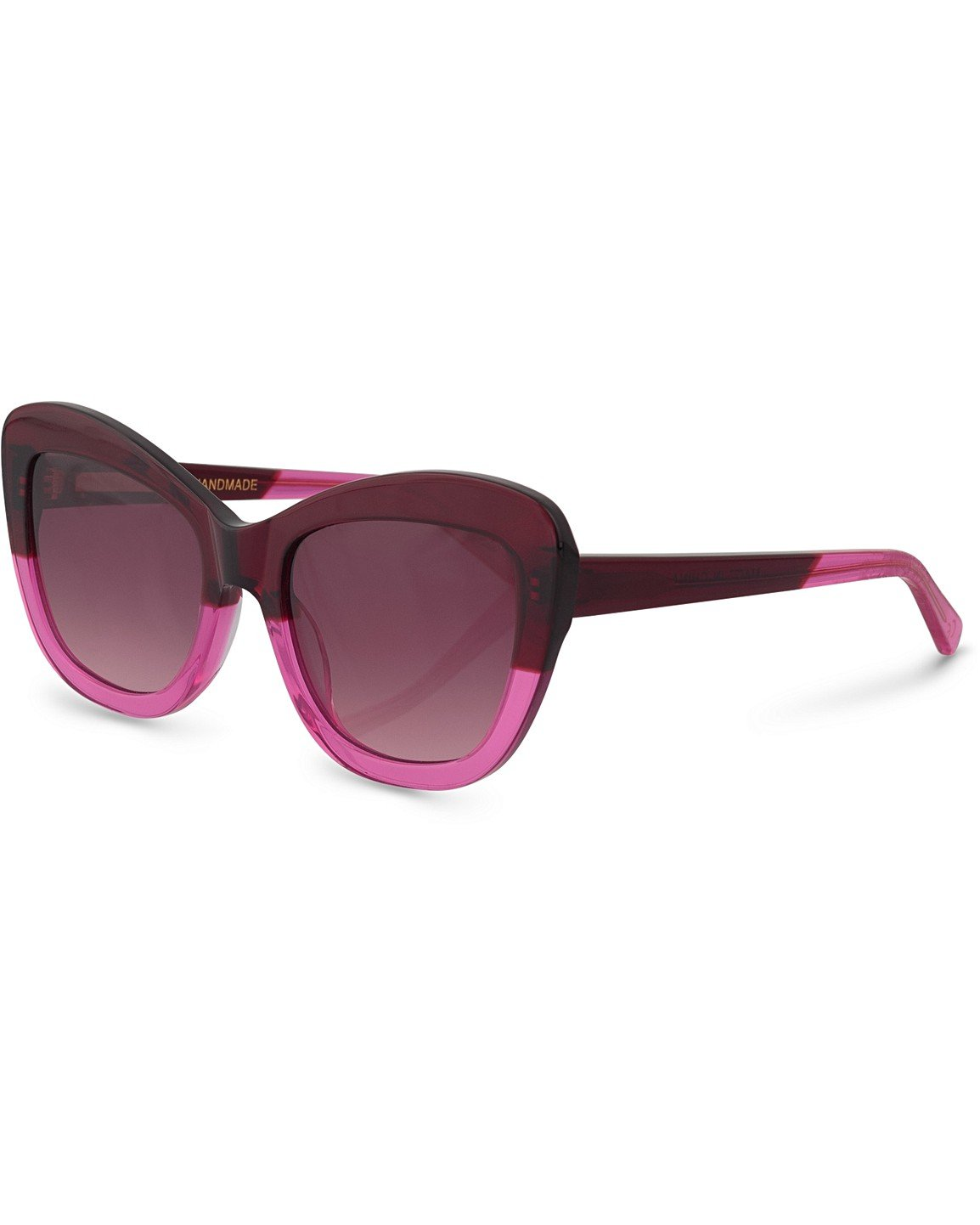 345d4acabedc Tokyo Cat Eye Red & Pink Sunglasses