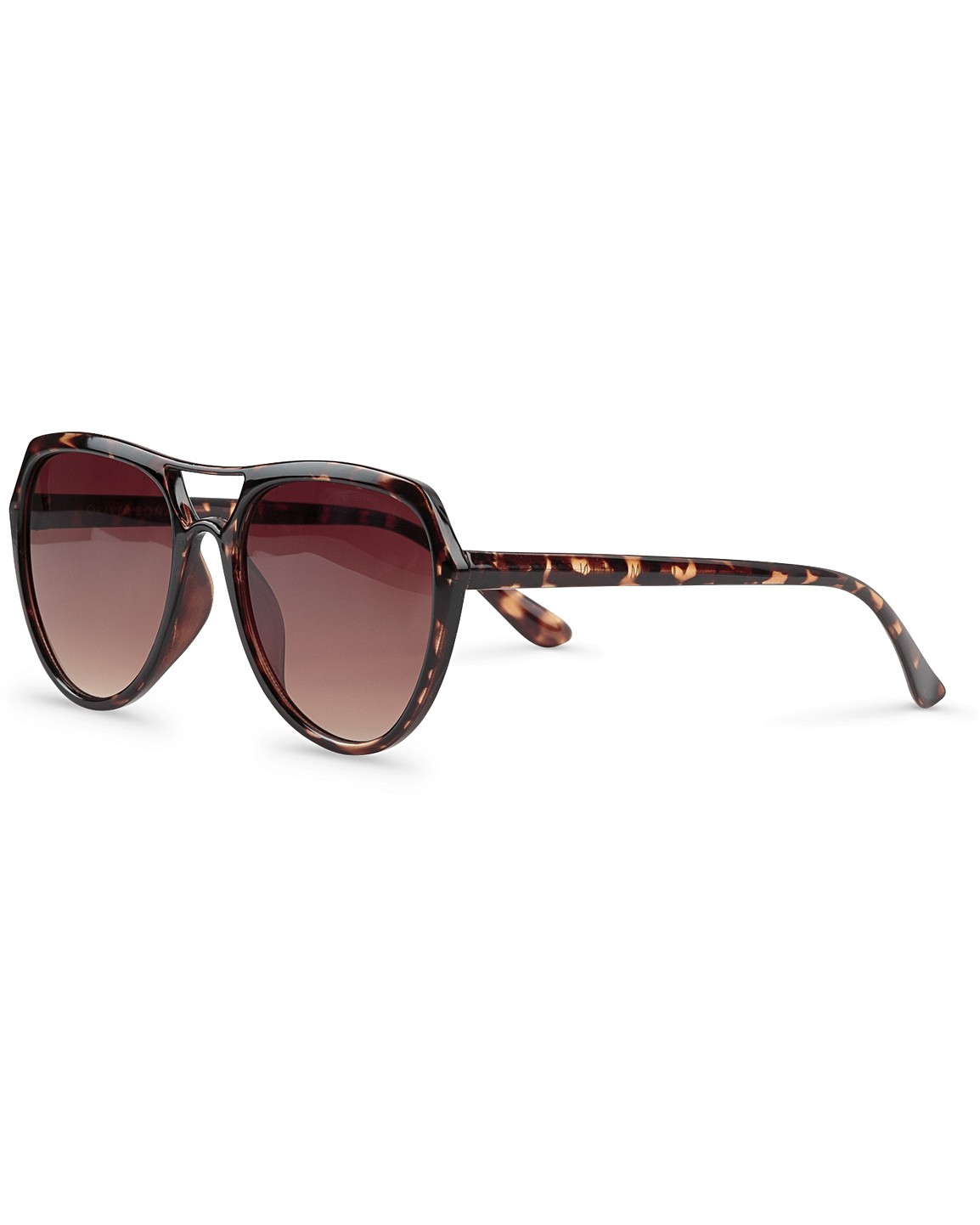 a69d721ea Angular Aviator Tortoise Shell Sunglasses