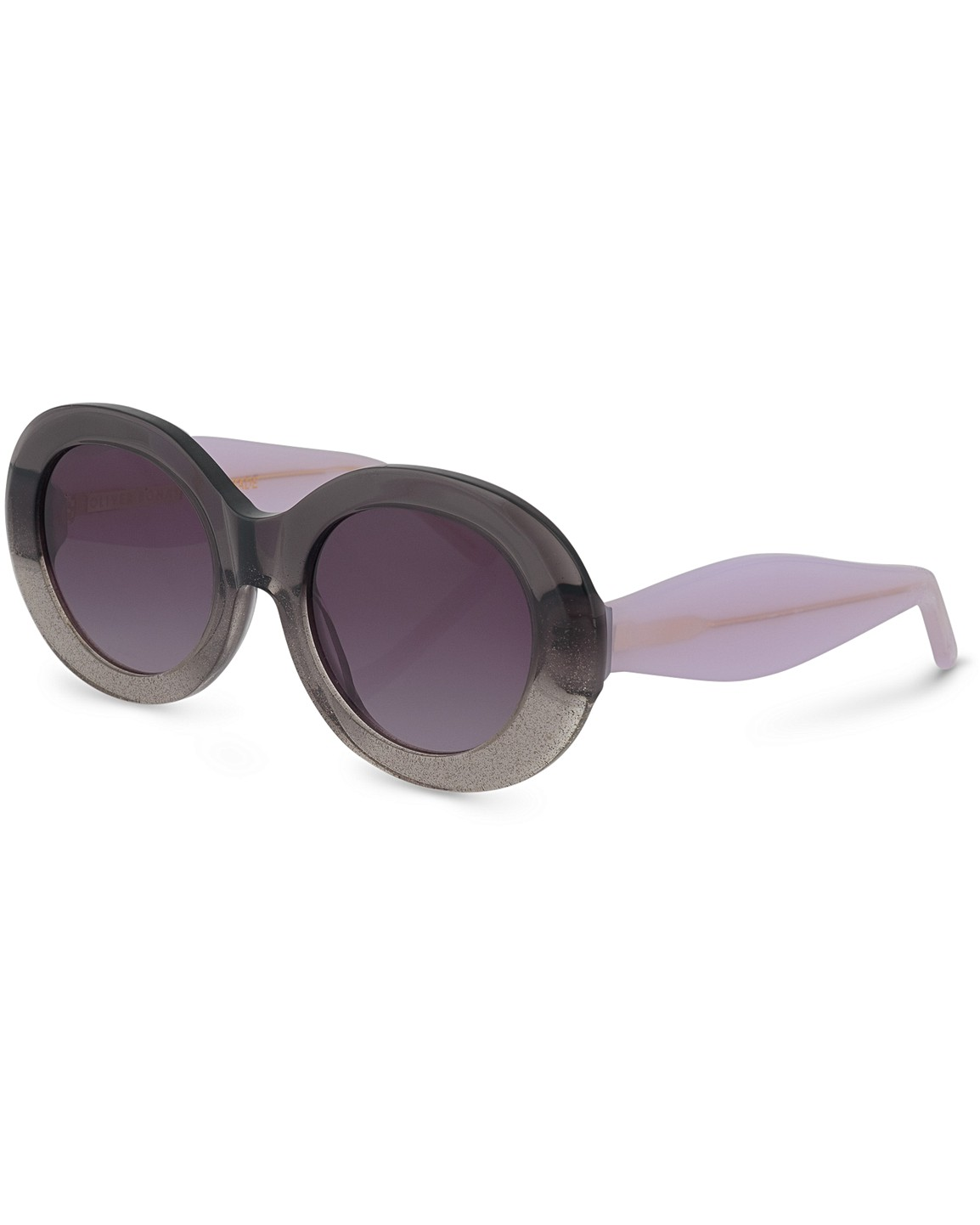 e46cea91c Hollywood Round Grey Sunglasses