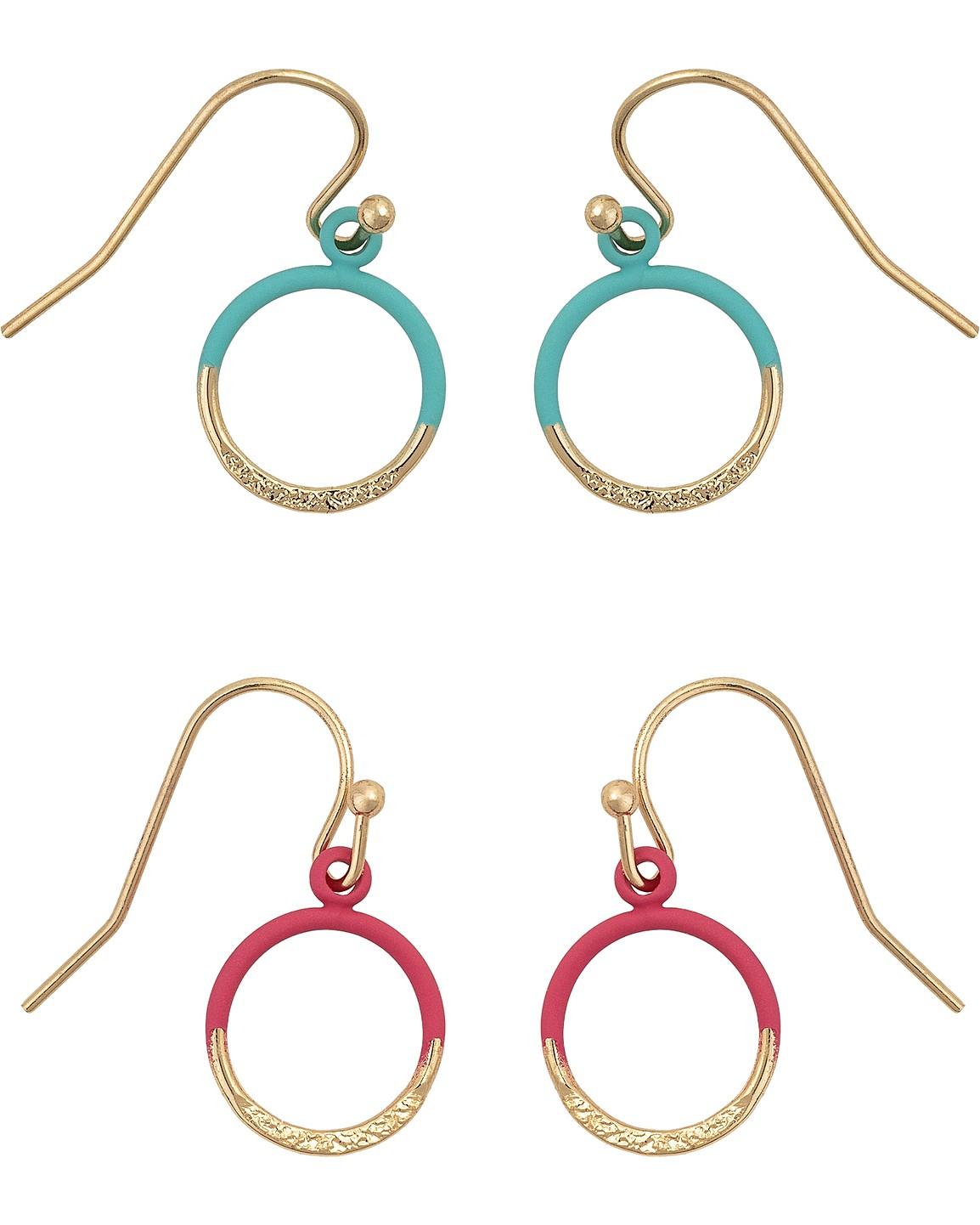 2a0709d98 Mini Hoop Earring Set of Two