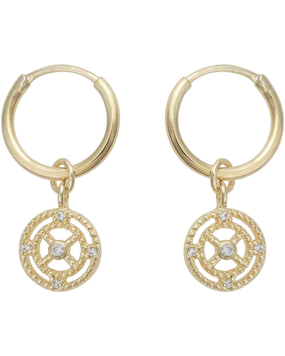 910b72ad1754a Earrings - Hoop Earrings, Gold & Silver Studs | Oliver Bonas