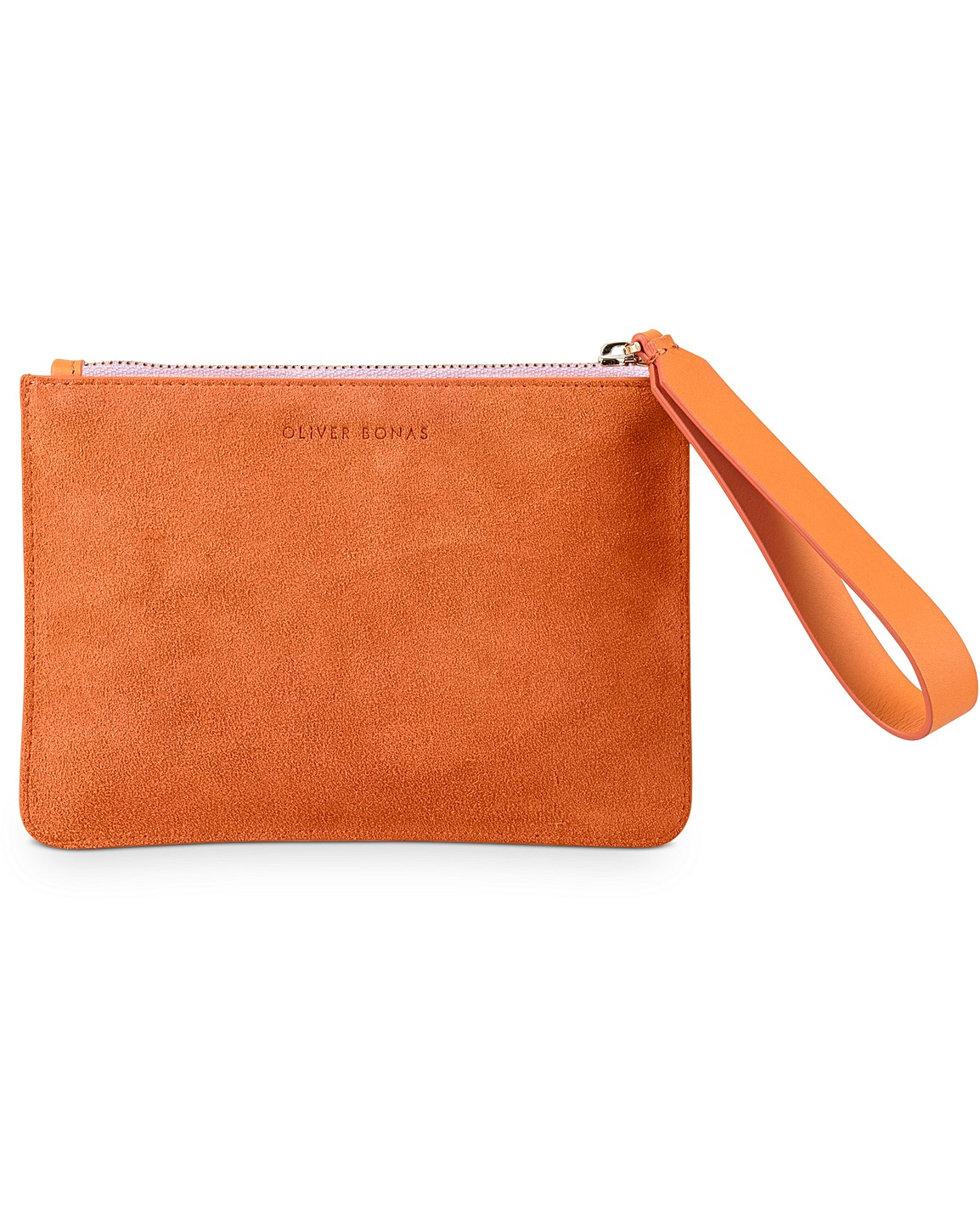 0555679a6b Nectarine Leather Pouch