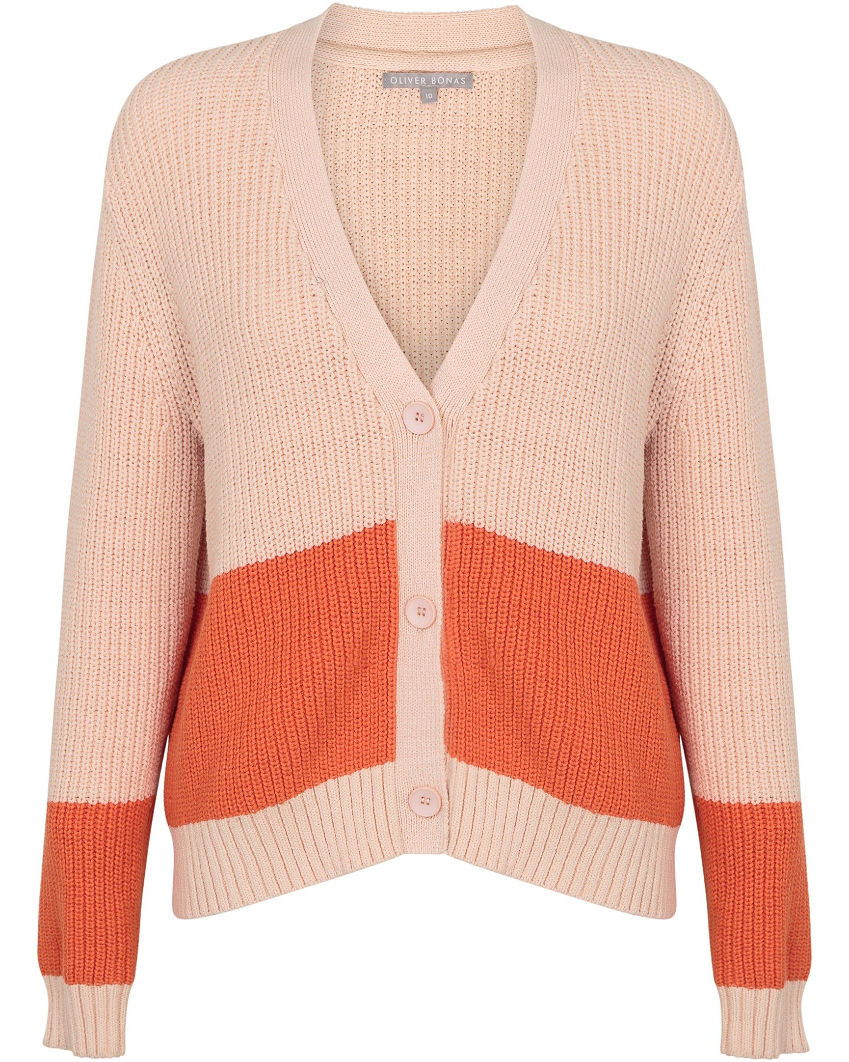 4f25aedee0c67 Wayfarer Peach   Orange Cardigan