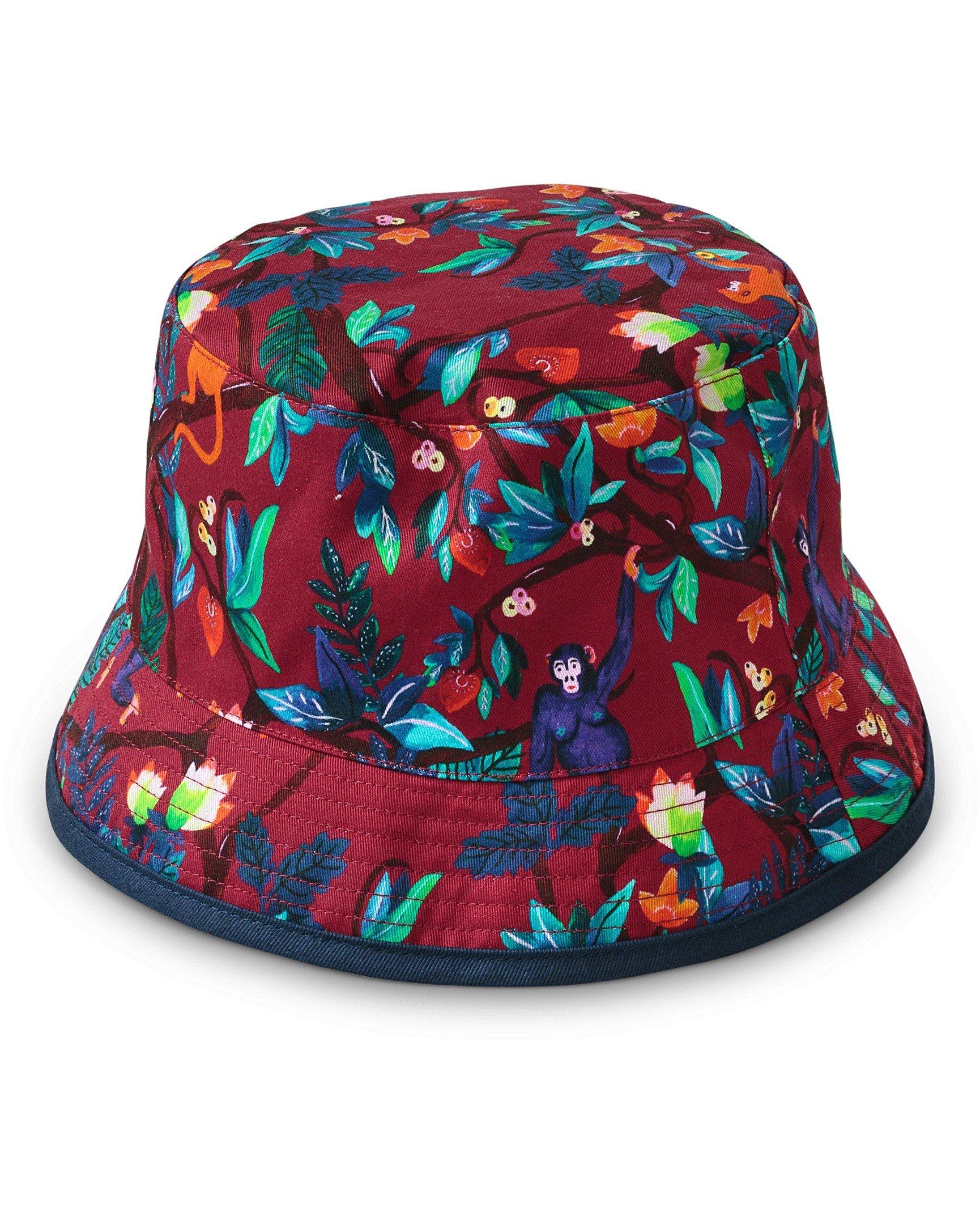 4f7dab06 Monkey Reversible Bucket Hat