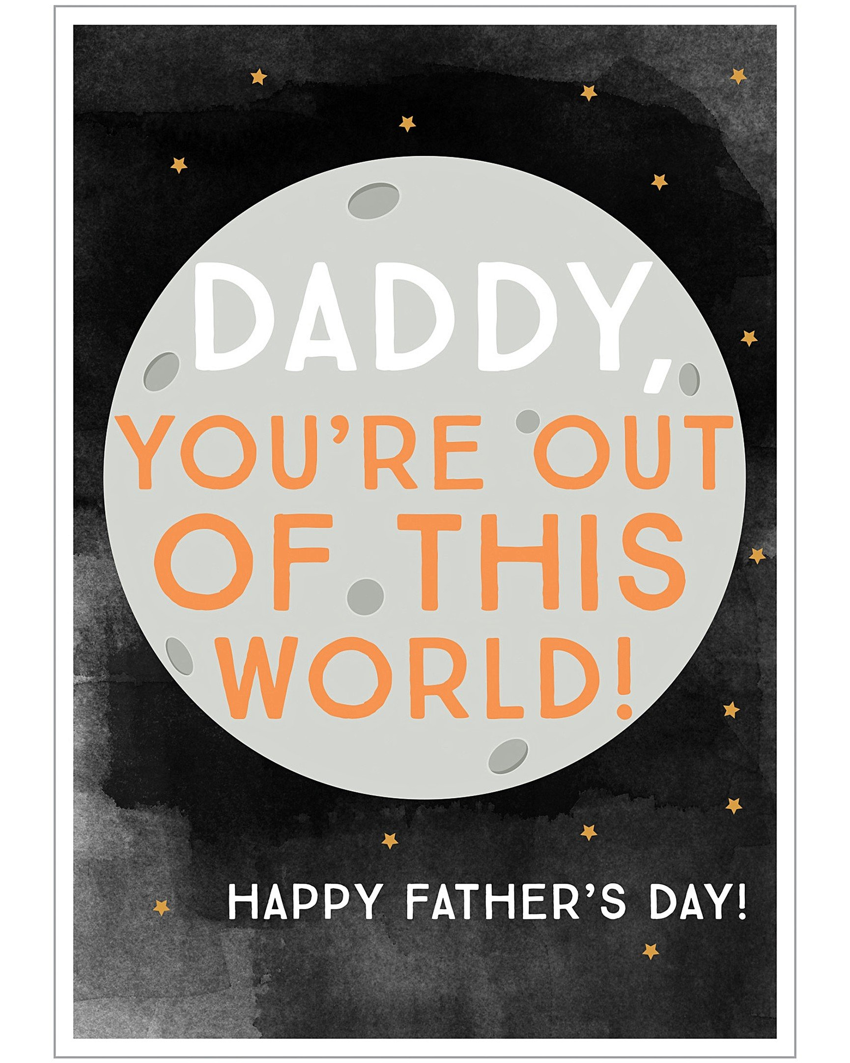 6cfa8320 Out of This World Father's Day Card