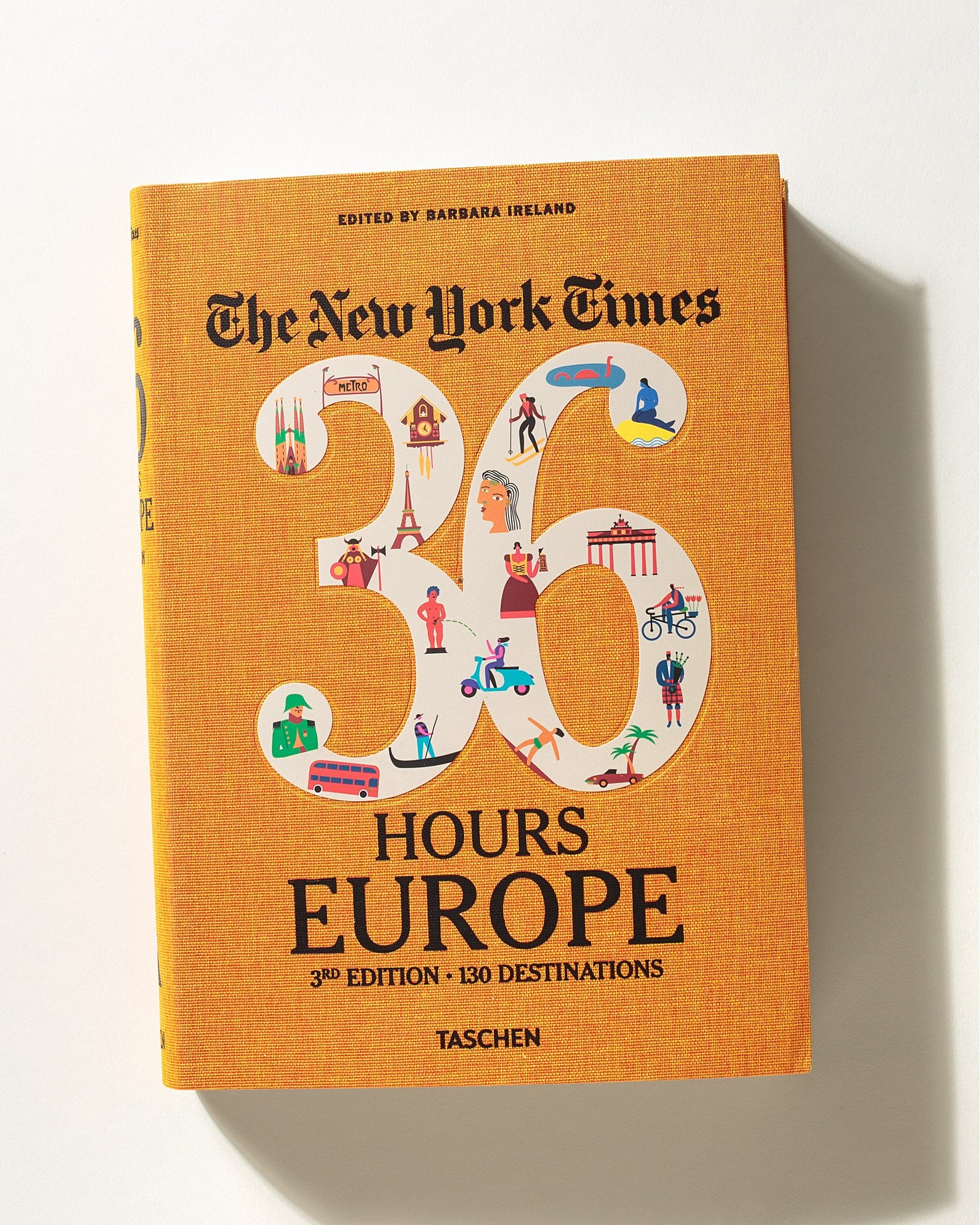 The New York Times 36 Hours Europe Book