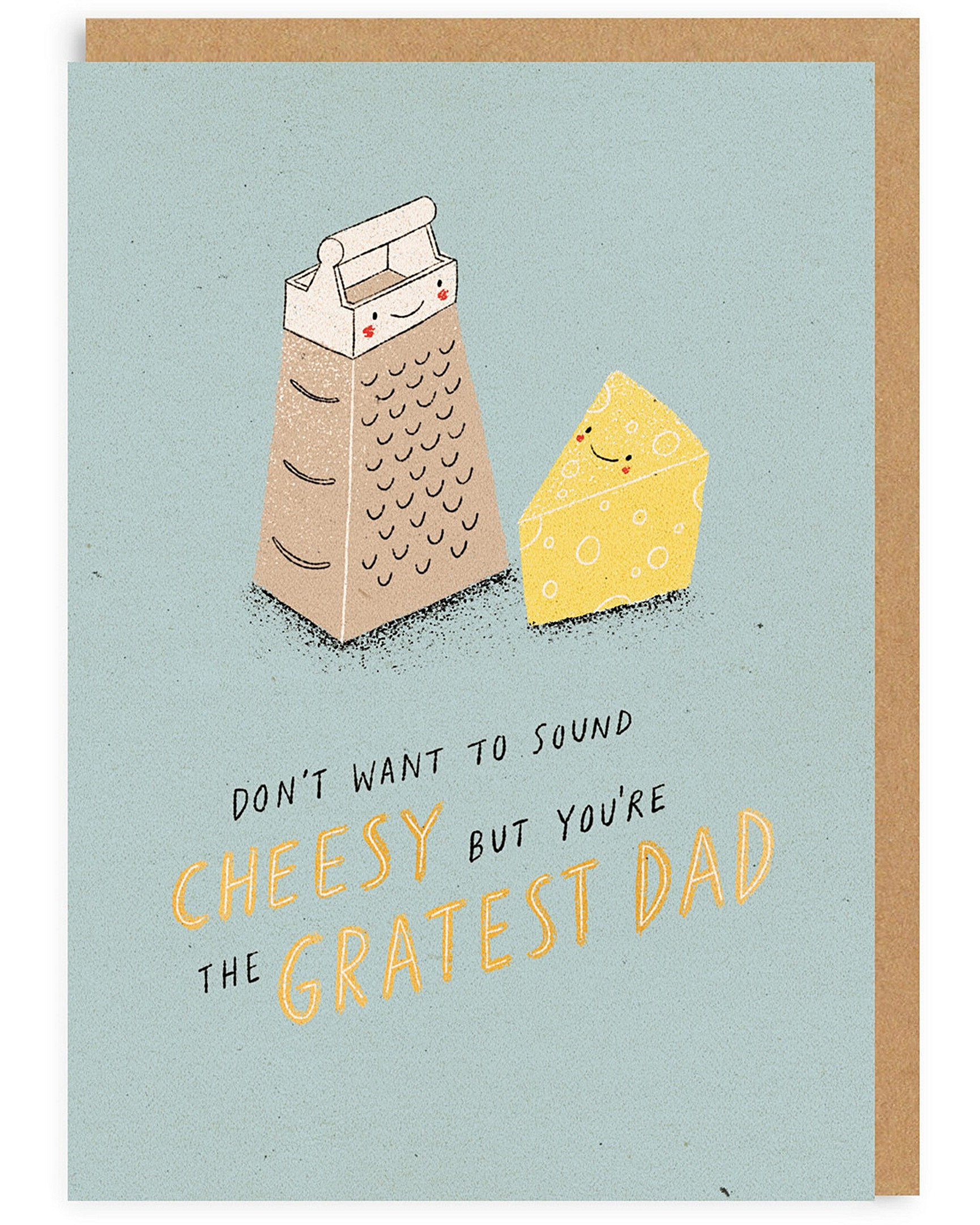 b5536af4 Cheesy Father's Day Card