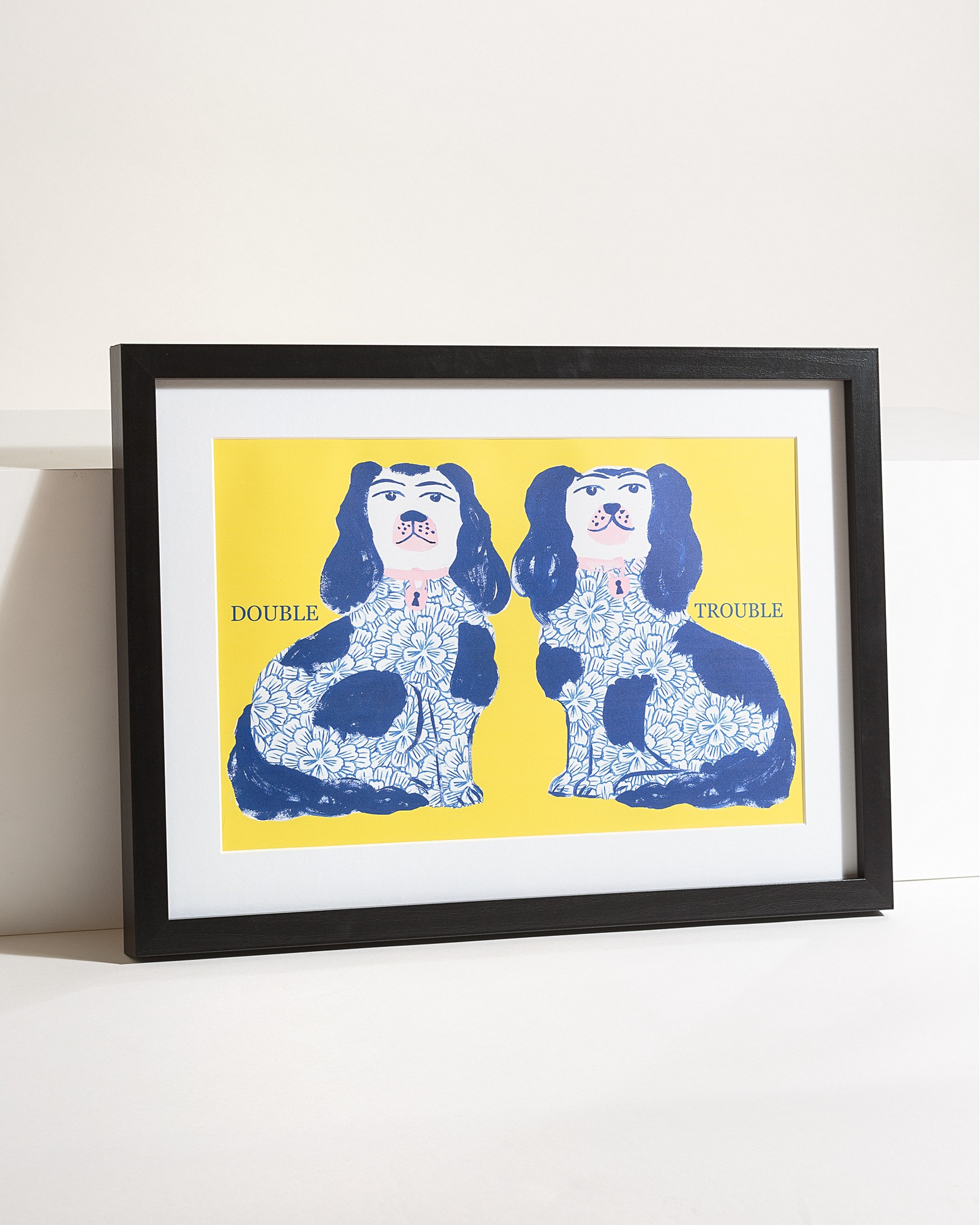 af102819e01 Double Trouble Dog Wall Art