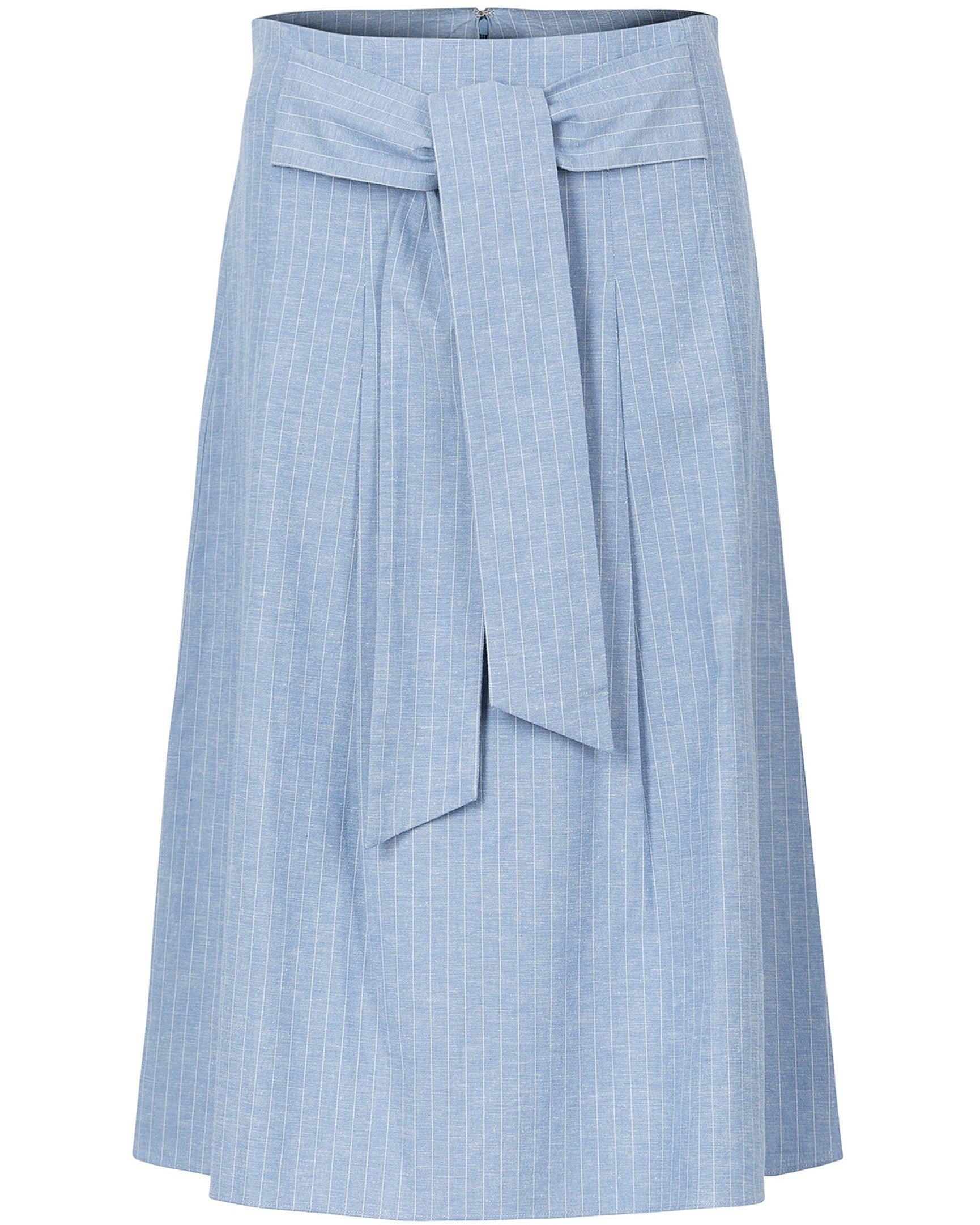 Entwined Stripe Midi Skirt 6c122970647