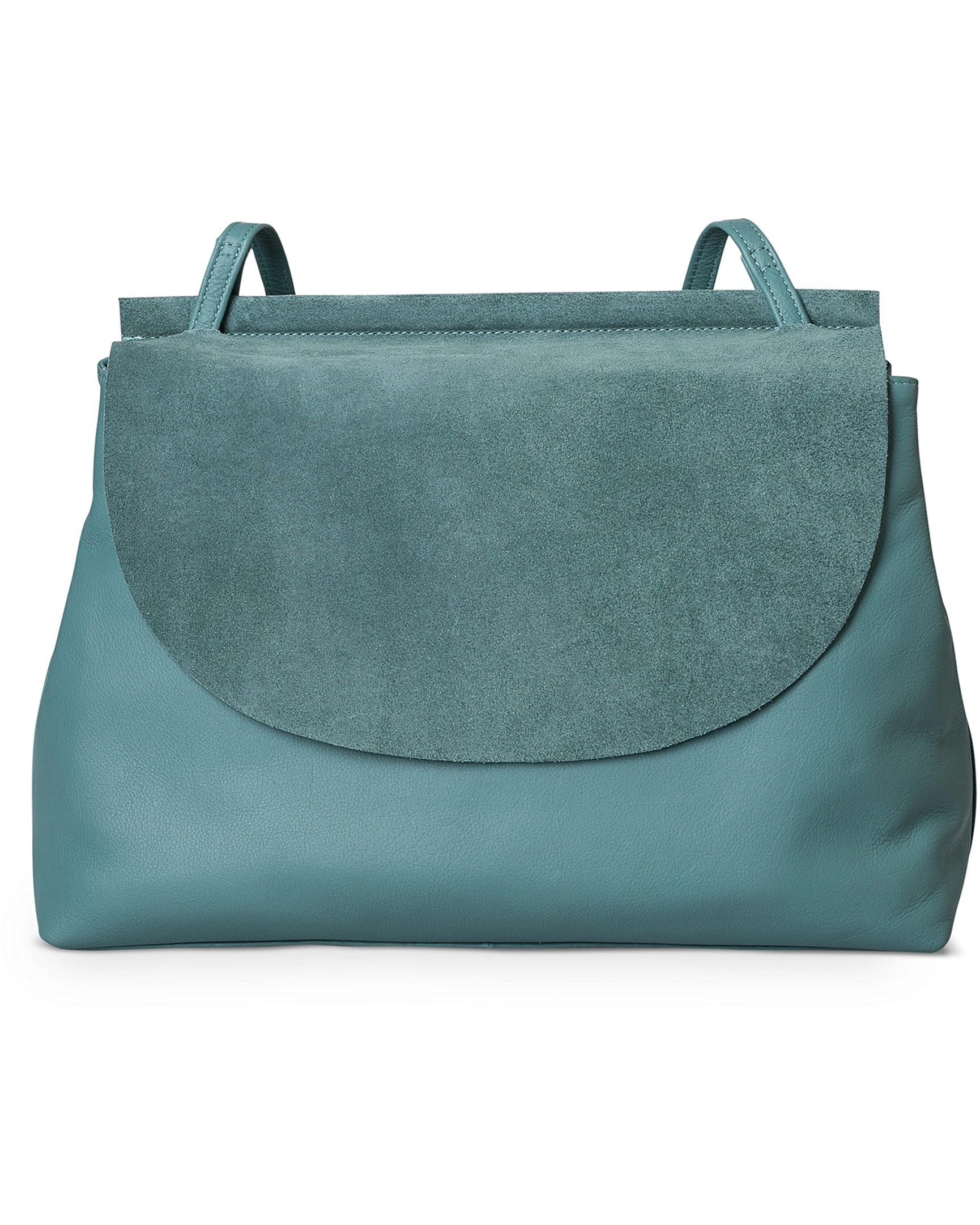 Clayton Suede Leather Shoulder Bag