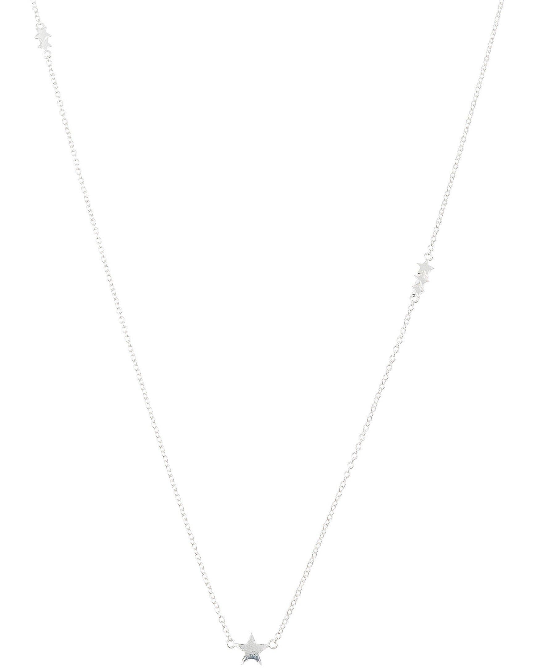 Pendant Necklaces Jewelry & Accessories Silver Swinging Girl Pendant Black Metallic Chain Women Necklace
