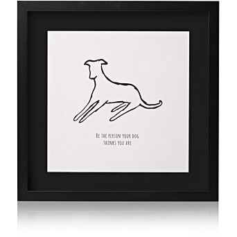 Dog Person Wall Art