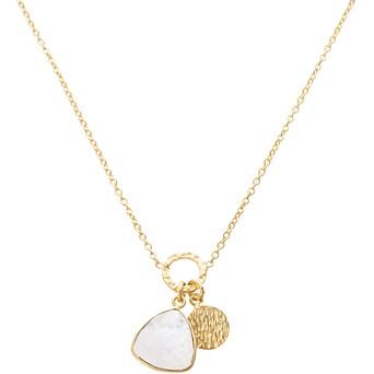 Necklaces pendants oliver bonas estepa triangular stone pendant necklace aloadofball Images