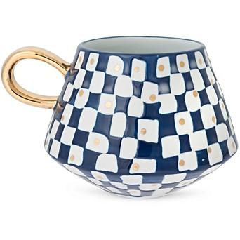 Easter gifts oliver bonas tamma blue porcelain mug negle Image collections