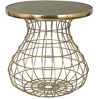 Unity Large Olive Gold Side Table