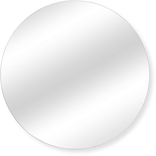 Large gold pebble wall mirror oliver bonas for Large white round mirror
