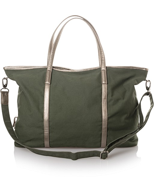 ... Olivia Overnight Canvas Weekend Bag. Double tap to enlarge 692eaf8a29abf