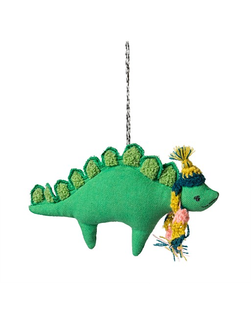 molly the dinosaur christmas decoration