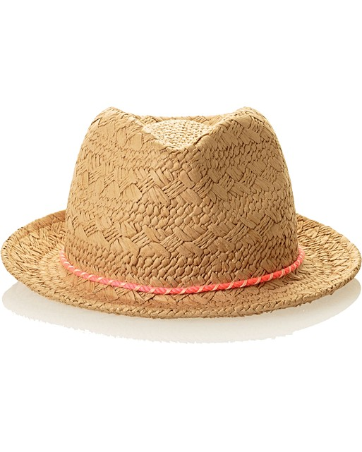 8282af8529926 ... Neon Rope Trim Fedora Hat. Click to enlarge